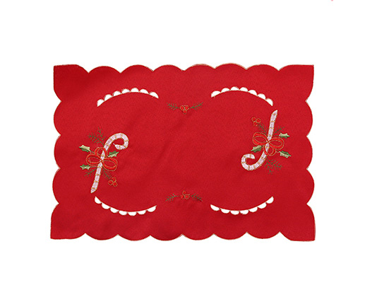 Cheap wholesale eco-friendly christmas felt coaster