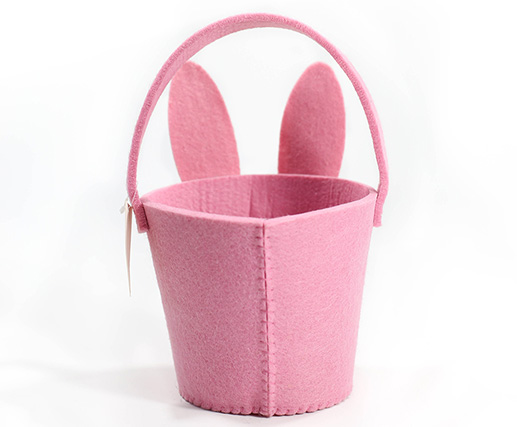 Felt Craft Decorative Basket Bag