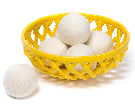 8 cm Natural Gray Wool Dryer Ball